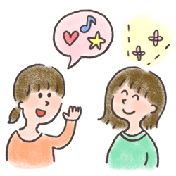 強調言葉くっつけ法をコミュニケーション能力にしよう