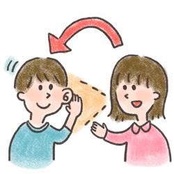 傾聴姿勢で会話が続かないを改善
