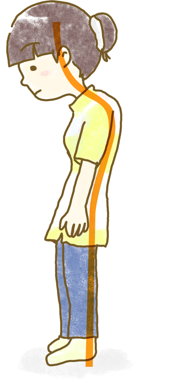 悪い姿勢の例をチェック第一印象を良くする方法のコツ
