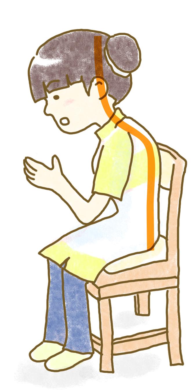 悪い姿勢の例からコミュニケーション能力を解説