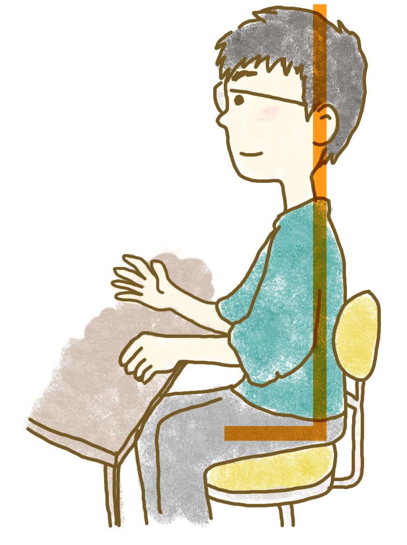 第一印象を良くする正しい座り姿勢