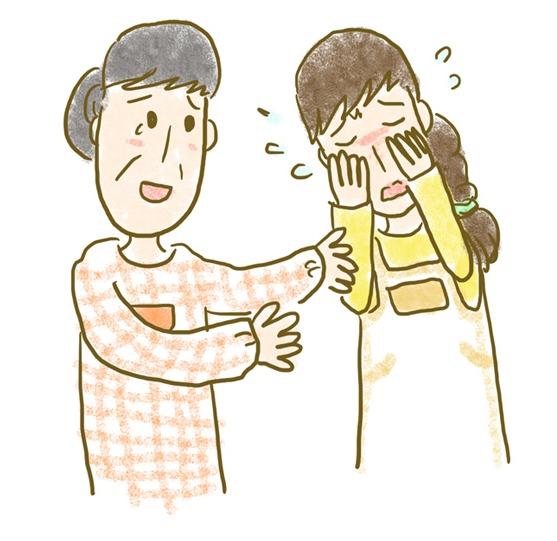 情緒不安定は女性に多い