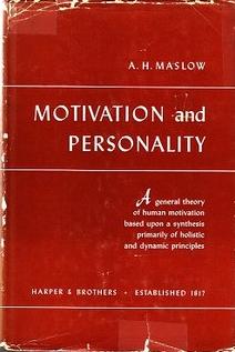 マズロー,モチベーションとパーソナリティ
