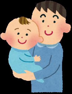 見知らぬ人と赤ちゃん