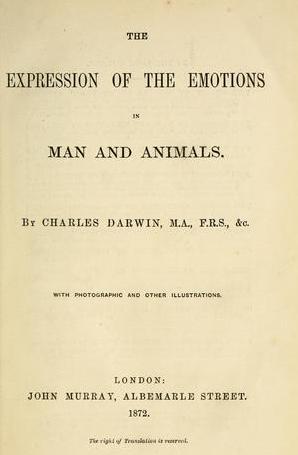 非言語,感情,ダーウイン