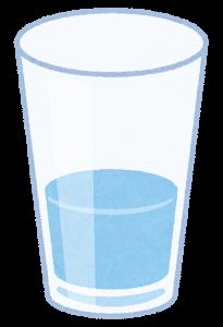 フレーミング効果,コップの水の事例