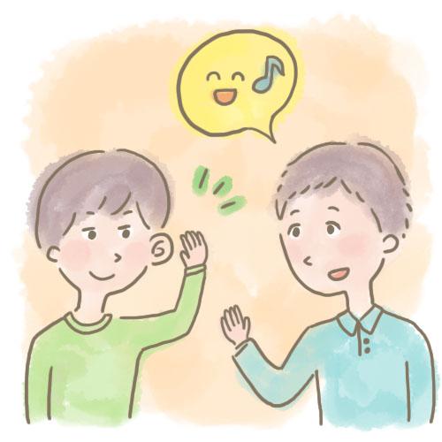 会話の基礎練習イメージ